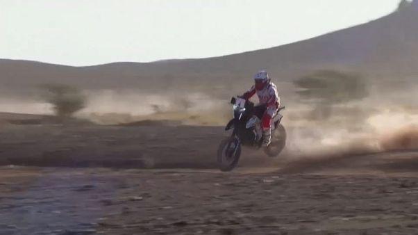 Rallye du Maroc: Etappensieg für Carlos Sainz und Paulo Goncalves