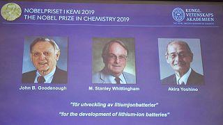 Le Nobel de chimie 2019 attribué aux inventeurs de la batterie lithium-ion