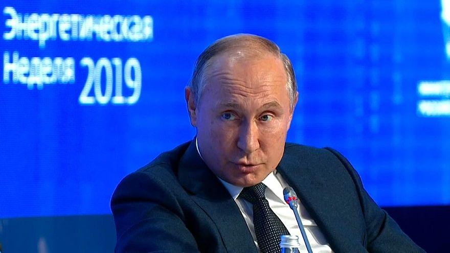 فلاديمير بوتين ليس متحمسا لمواقف غريتا تونبرغ حول البيئة