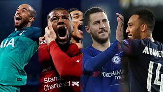 European football first after four English clubs reach both Euro finals