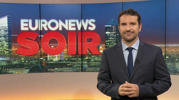 Euronews Soir : l'actualité du mercredi 9 octobre 2019