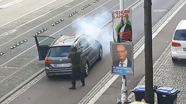 Tiroteio provoca dois mortos em Halle