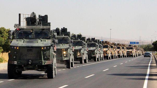 Erdoğan annuncia l'inizio dell'operazione militare contro i curdi in Siria
