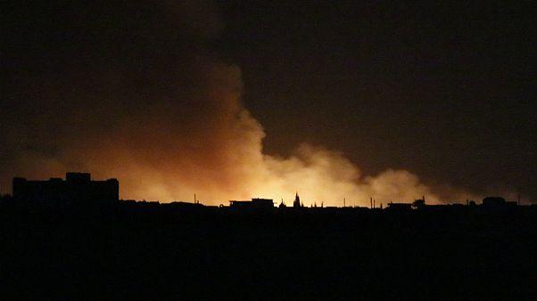 Türk ordusu, Suriye'de 'Barış Pınarı Harekatı'na başladı