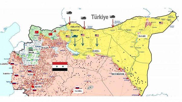 تعرف على مناطق تواجد القوات الأجنبية في سوريا وأبرز قواعدها العسكرية