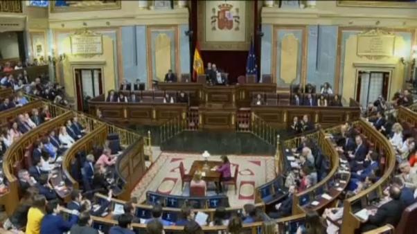 Jailed Catalan leaders attend opening session of Spain's new parliament