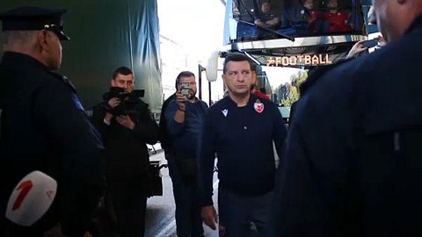 Nem engedték be Koszovóba a szerb labdarúgócsapatot