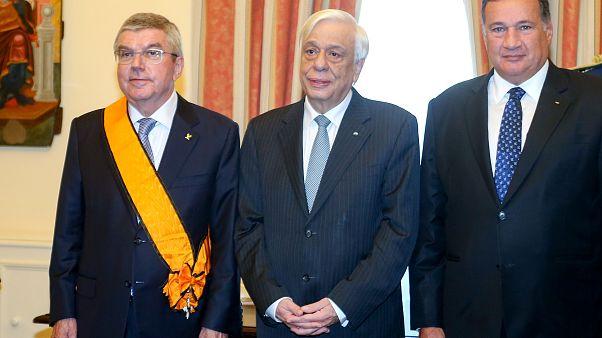Ο Πρόεδρος της Δημοκρατίας παρασημοφόρησε τον Thomas Bach