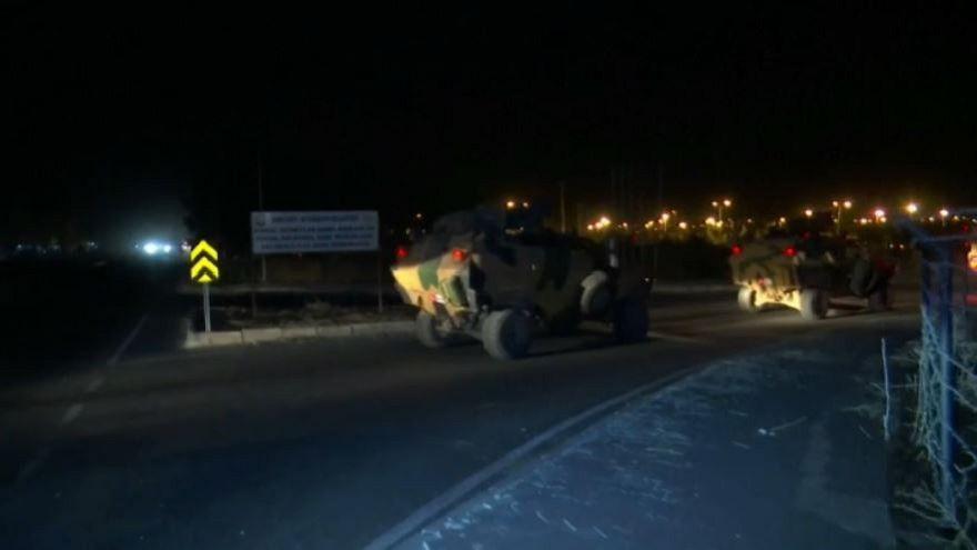 Türkei schickt Bodentruppen nach Nordsyrien