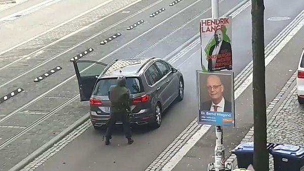 Alemanha em choque com tiroteio de Halle