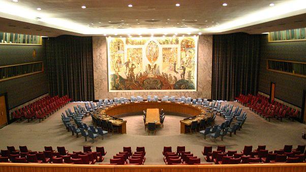 Birleşmiş Milletler Güvenlik Konseyi toplantı salonu