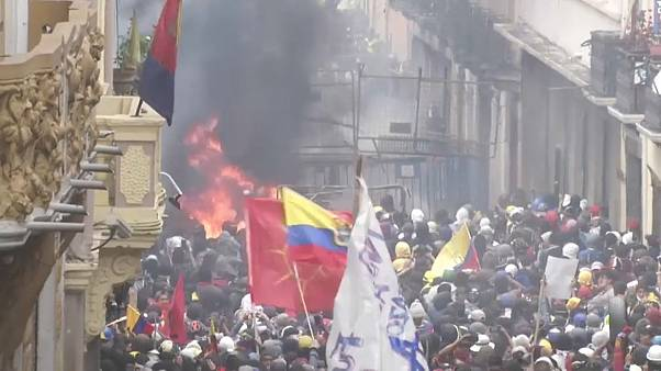 Entre pro et anti-Moreno, l'Équateur en ébullition