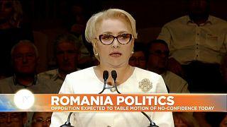 Romania's government on the brink ahead of vote of no confidence in Viorica Dancila
