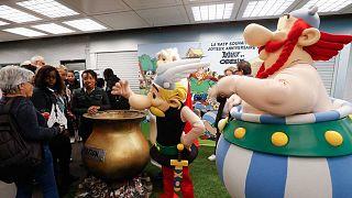 Lutèce et son métro fêtent les 60 ans d'Astérix