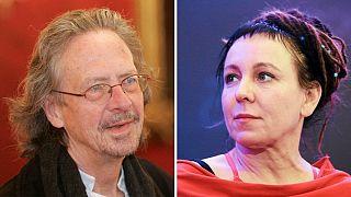 جایزه نوبل ادبیات ۲۰۱۸ به اولگا توکارشوک و سال ۲۰۱۹ به پیتر هاندکه اهدا شد