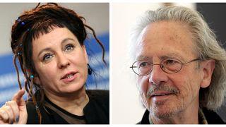 La polaca Olga Tokarczuk y el austriaco Peter Handke ganan los Nobel de Literatura 2018 y 2019