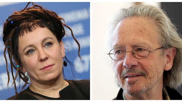 Chi sono i vincitori del Nobel per la letteratura, Olga ToKarczuk e Peter Handke
