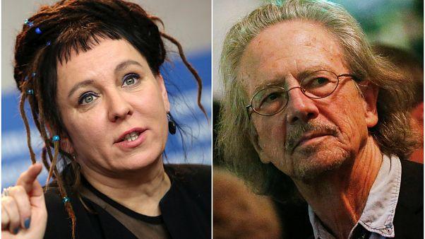 Olga Tokarczuk e Peter Handke, vencedores do Nobel da Literatura