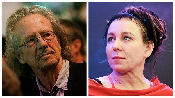 Olga Tokarczuk és Peter Handke nyerte az irodalmi Nobel-díjat 2018-ban illetve 2019-ben