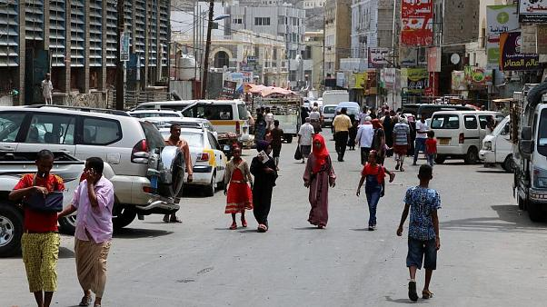 شارع في عدن يوم 12 أغسطس/ آب 2019
