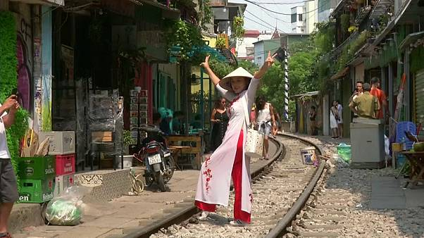 Off the rails: Hanoi closes railway cafés thronged by selfie-seeking tourists