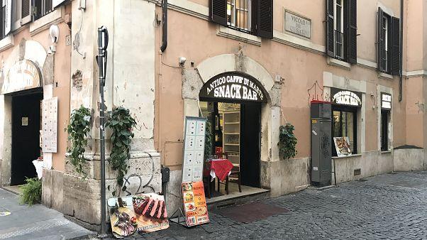 Antico Caffe di Marte isimli restorant