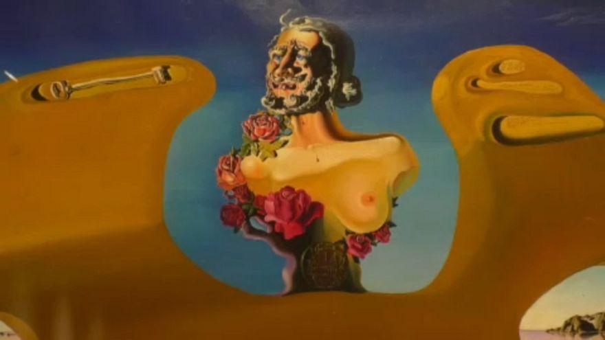 Magritte és Dali találkozása Brüsszelben