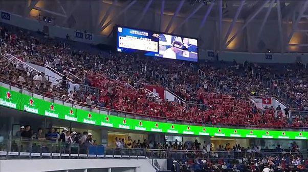 Федерер и Тим вышли в четвертьфинал в Шанхае