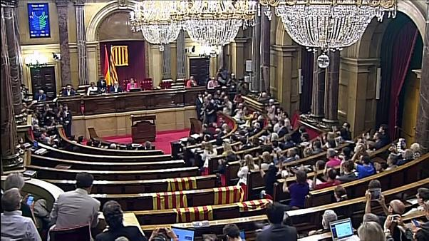 Хроника кризиса в Каталонии