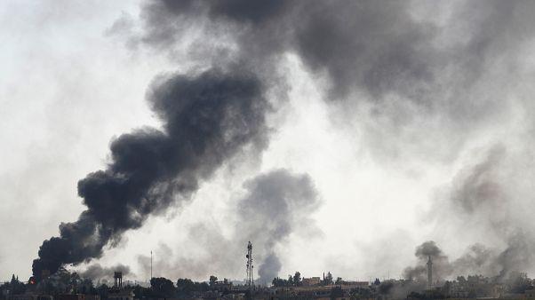 Σε πλήρη εξέλιξη η τουρκική επιχείρηση στην ΒΑ Συρία