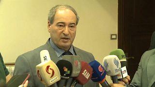 فبصل المقداد نائب وزير الخارجية السوري