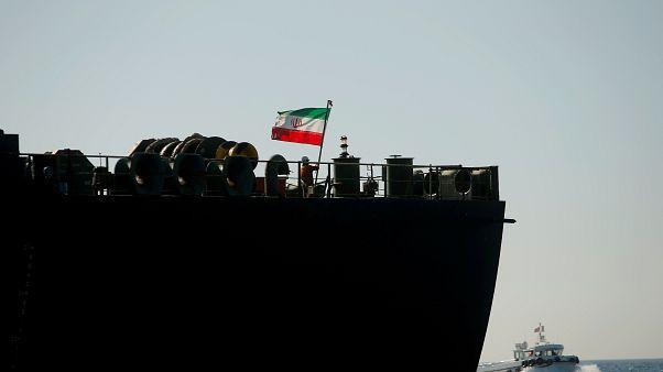 İran'a ait bir petrol tankeri
