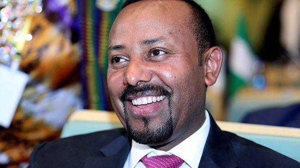 Ethiopian Prime Minister Abiy Ahmed in Addis Ababa, Ethiopia January 17, 2019.