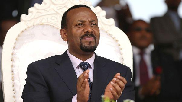 رئيس الوزراء الإثيوبي آبي أحمد الفائز بجائزة نوبل للسلام للعام 2019