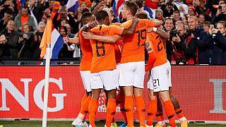 Euro2020: aggancio Olanda, goleada Belgio, tracollo Scozia