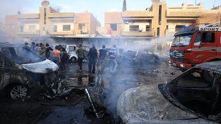 """تنظيم """"داعش"""" يتبنى تفجير سيارة مفخخة في القامشلي السورية ومقتل 6 أشخاص"""