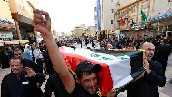 سیستانی: خون قربانیان ناآرامیها در عراق به گردن دولت است
