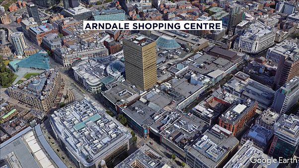 Messerangriff vor Einkaufszentrum im Herzen von Manchester