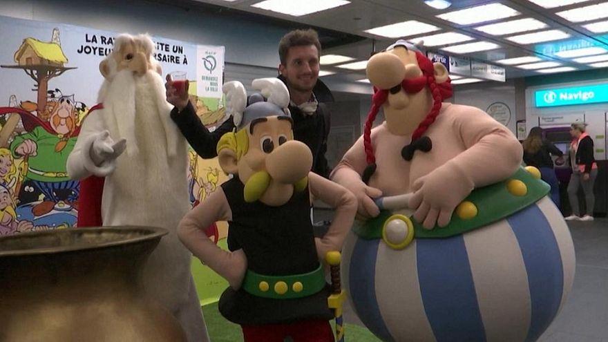 Bilder der Woche: Asterix, Putin und Adler Victor