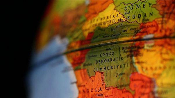 Kongo haritası
