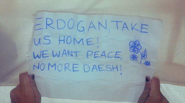 Kamplarda tutulan Avrupalı IŞİD'liler Türk askerini bekliyor: Ülkemize dönmek istiyoruz