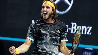 Masters de Shanghái: Tsitsipas se carga a Djokovic y Zverev, a Federer