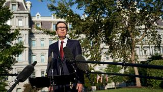 Amerikan Hazine Bakanı Mnuchin: Trump Türkiye'ye yaptırım tasarısı hazırlanması talimatı verdi