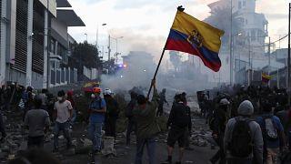 Se recrudecen los disturbios en Ecuador a pesar de la oferta de diálogo del presidente Moreno