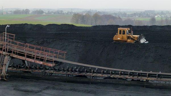 Los yacimientos son vistos en la mina de carbón Pniowek de JSW en Pawlowice, Polonia, el 6 de diciembre de 2018.