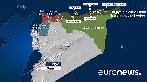 Barış Pınarı Harekatı: Milli Suriye Ordusu stratejik M4 kara yoluna ulaştı