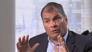 La crisis en Ecuador devuelve protagonismo al expresidente Rafel Correa