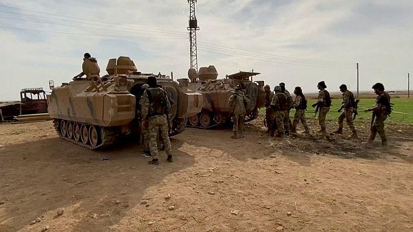 Suriye İnsan Hakları Gözlemevi: SDG'den 74, Suriye Milli Ordusu'ndan 49 savaşçı öldü