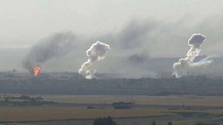 Erősödik Törökország katonai offenzívája Szíriában