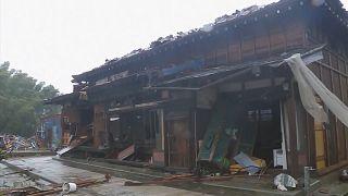 Un typhon meurtrier s'abat sur le Japon